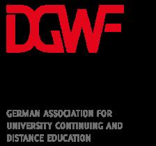 Logo Deutschen Gesellschaft für Wissenschaftliche Weiterbildung und Fernstudium e.V.